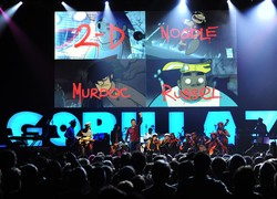 Image of Gorillaz, Chugg Entertainment