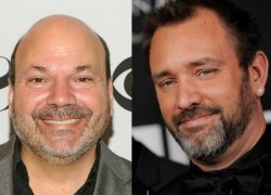 Image of Trey Parker and Casey Nicholaw