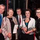 Live Performance Australia Chief Executive Evelyn Richardson and guests