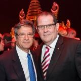 John Frost OAM with QPAC Chief Executive John Kotzas