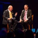 Alan Jones and John Frost OAM reminiscing