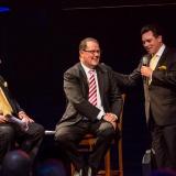 Alan Jones, John Frost OAM and Lyndon Terracini Artistic Director of Opera Australia