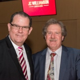John Frost OAM with Live Performance Australia Workplace Relations Director David Hamilton